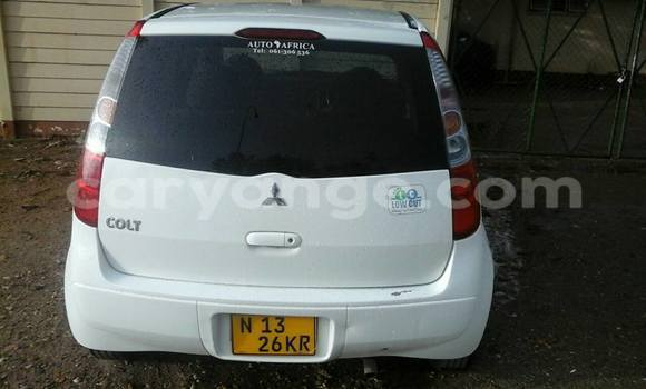 Buy Used Mitsubishi Colt White Car in Windhoek in Namibia