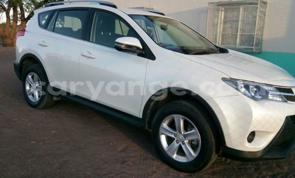 Buy Used Toyota RAV4 White Car in Windhoek in Namibia