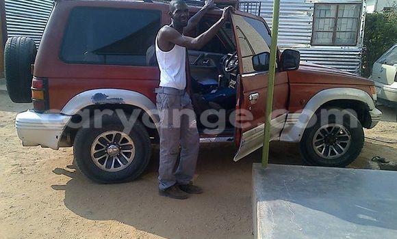 Buy Used Mitsubishi Pajero Red Car in Windhoek in Namibia