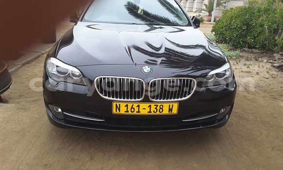Buy Used BMW 5–Series Black Car in Windhoek in Namibia