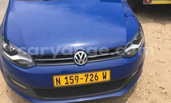 Buy Used Volkswagen Polo Blue Car in Windhoek in Namibia