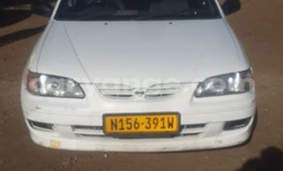 Buy Used Nissan Sunny White Car in Windhoek in Namibia