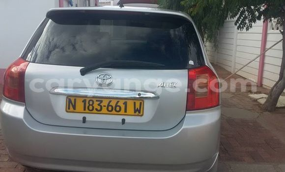 Buy Used Toyota Allex Silver Car in Windhoek in Namibia
