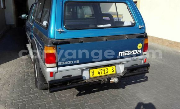 Buy Used Mazda B–series Blue Car in Windhoek in Namibia