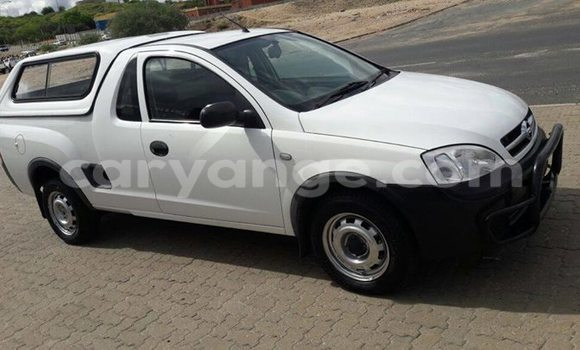 Buy Used Opel Corsa White Car in Windhoek in Namibia