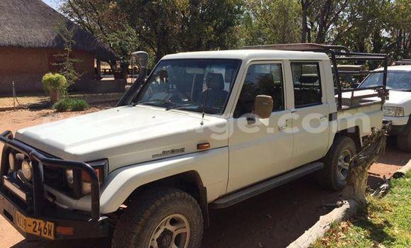 Buy Used Toyota Land Cruiser White Car in Windhoek in Namibia