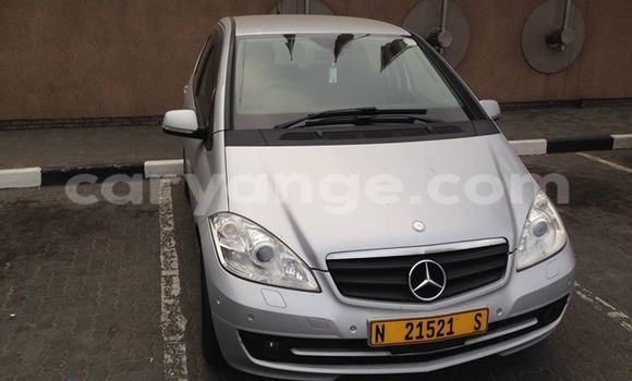 Buy Used Mercedes‒Benz A–Class Silver Car in Windhoek in Namibia