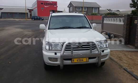 Buy Used Toyota Land Cruiser White Car in Windhoek in Namibia