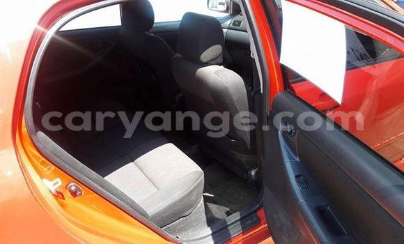 Buy Used Toyota Runx Red Car in Windhoek in Namibia