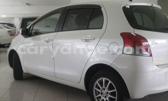 Buy Used Toyota Vitz White Car in Windhoek in Namibia