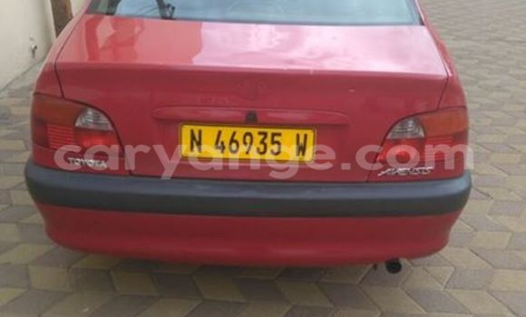 Buy Used Toyota Avensis Red Car in Windhoek in Namibia