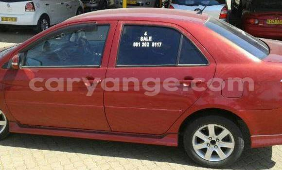 Buy Used Toyota Vios Red Car in Windhoek in Namibia