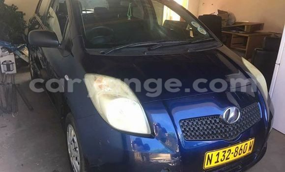 Buy Used Toyota Vitz Blue Car in Windhoek in Namibia