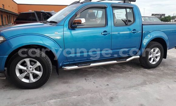 Buy Used Nissan Navara Blue Car in Windhoek in Namibia