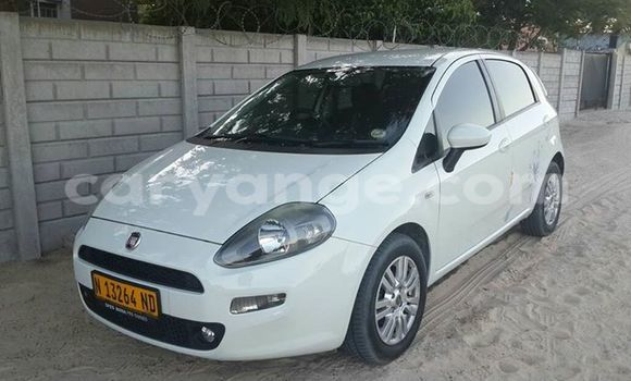 Buy Used Fiat Punto White Car in Windhoek in Namibia