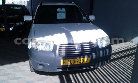 Buy Used Subaru Outback White Car in Windhoek in Namibia
