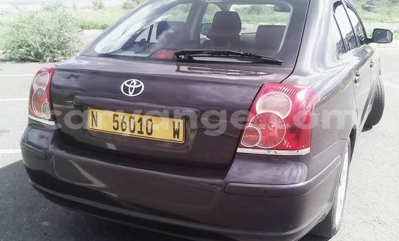 Buy Used Toyota Avensis Black Car in Windhoek in Namibia