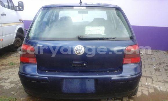 Buy Used Volkswagen Golf Blue Car in Windhoek in Namibia