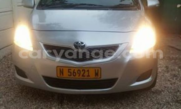 Buy Used Toyota Vitz Silver Car in Windhoek in Namibia