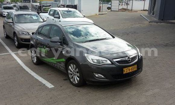 Buy Used Opel Astra Black Car in Windhoek in Namibia