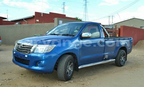 Buy Used Toyota Hilux Blue Car in Windhoek in Namibia