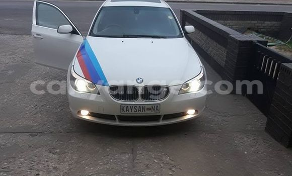 Buy Used BMW 5–Series White Car in Windhoek in Namibia