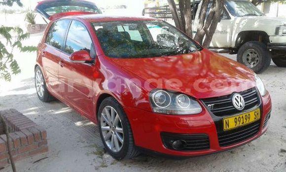 Buy Used Volkswagen Golf Red Car in Windhoek in Namibia