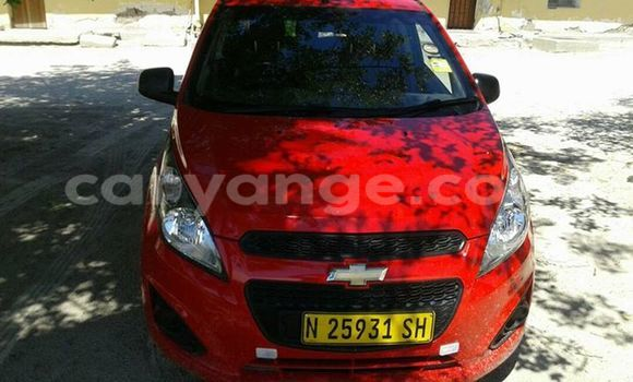 Buy Used Chevrolet Spark Red Car in Windhoek in Namibia