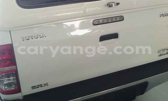Buy Used Toyota Hilux White Car in Swakopmund in Namibia