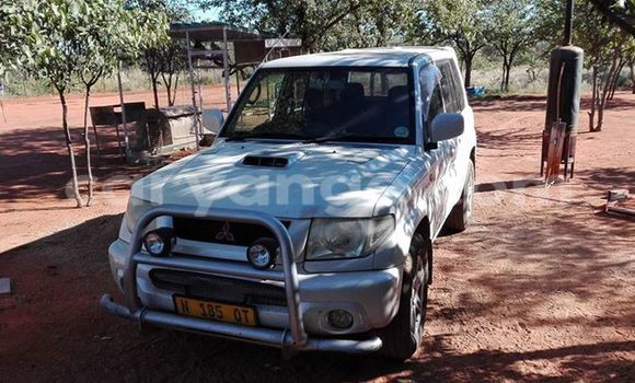 Buy Used Mitsubishi Pajero White Car in Windhoek in Namibia