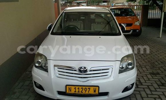 Buy Used Toyota Avensis White Car in Windhoek in Namibia