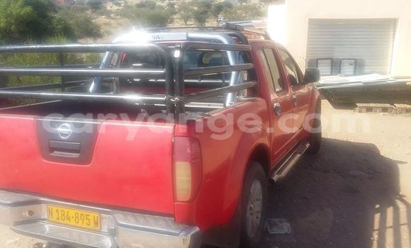 Buy Used Nissan Navara Red Car in Windhoek in Namibia
