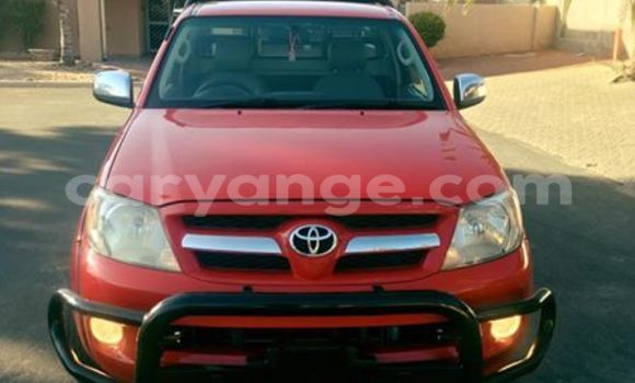 Buy Used Toyota Hilux Red Car in Windhoek in Namibia