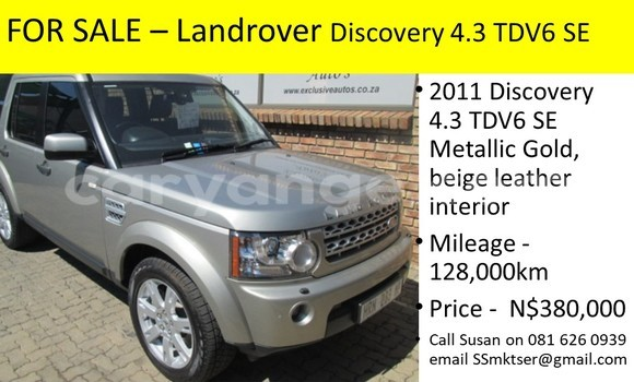 Buy Used Land Rover Discovery Beige Car in Windhoek in Namibia