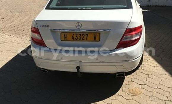 Buy Used Mercedes-Benz C–Class White Car in Windhoek in Namibia