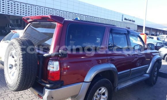 Buy Used Toyota Hilux Surf Red Car in Windhoek in Namibia