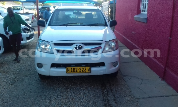 Buy Used Toyota Hilux White Car in Grootfontein in Namibia