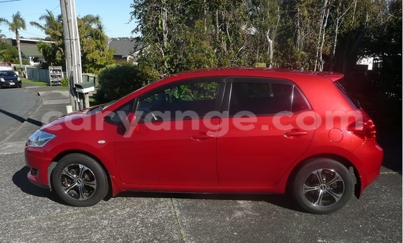 Buy Used Toyota Auris Red Car in Windhoek in Namibia