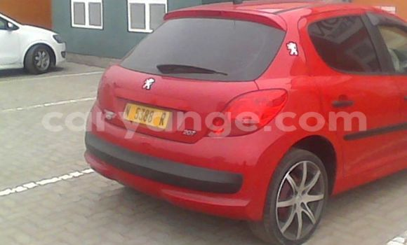 Buy Used Peugeot 207 Red Car in Windhoek in Namibia