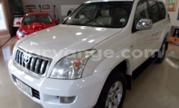 Buy Used Toyota Prado White Car in Rundu in Namibia
