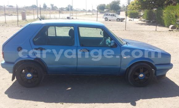 Buy Used Volkswagen Golf Blue Car in Grootfontein in Namibia
