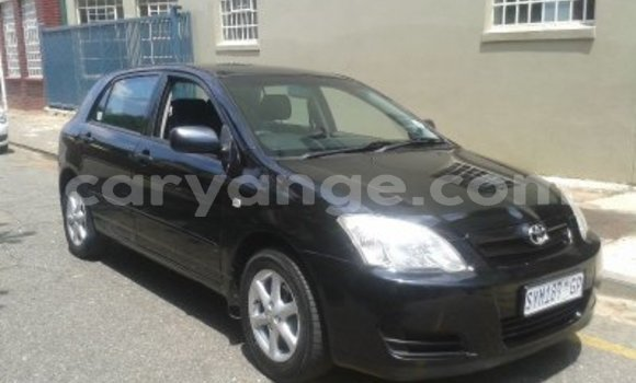Buy Used Toyota Runx Black Car in Grootfontein in Namibia
