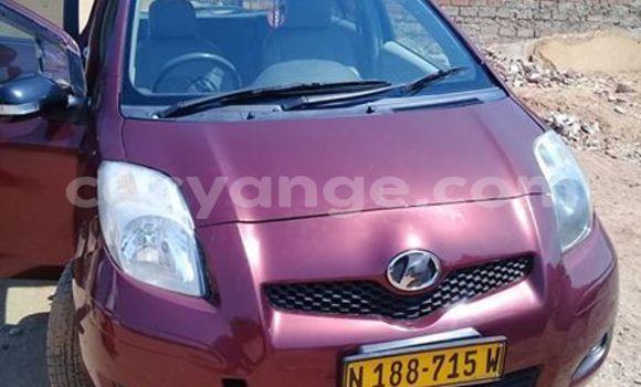 Buy Used Toyota Yaris Red Car in Windhoek in Namibia