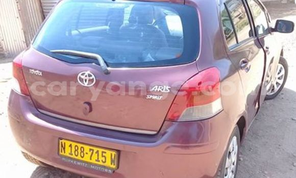Buy Used Toyota Yaris Red Car in Windhoek in Namibia