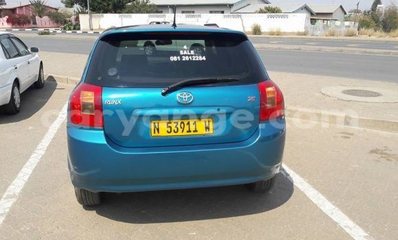 Buy Used Toyota Runx Other Car in Windhoek in Namibia