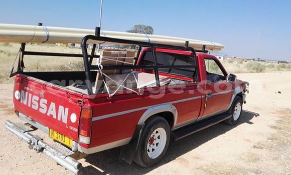Buy Used Nissan Pickup Red Car in Windhoek in Namibia