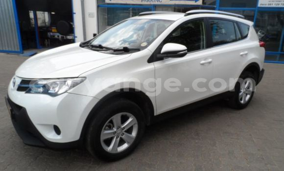 Buy Used Toyota RAV4 White Car in Walvis Bay in Namibia