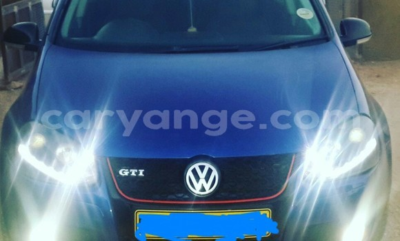 Buy Used Volkswagen Golf Blue Car in Windhoek in Namibia