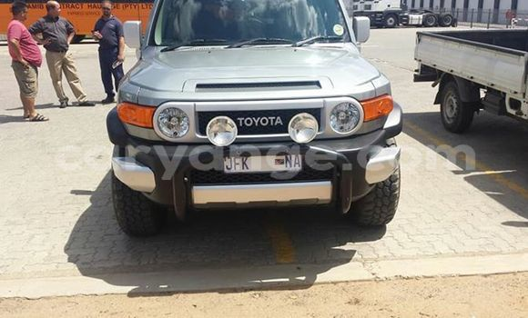 Buy Used Toyota FJ Cruiser Silver Car in Windhoek in Namibia