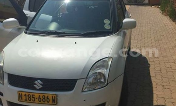 Buy Used Suzuki Swift White Car in Windhoek in Namibia